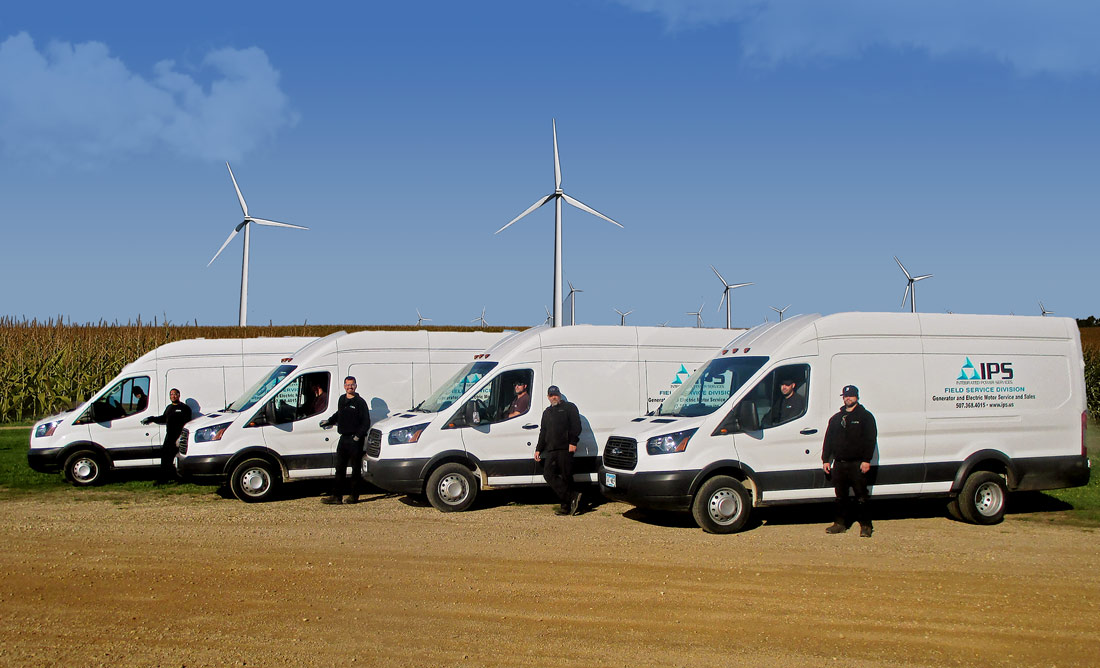 IPS Wind Up-tower Services Crews