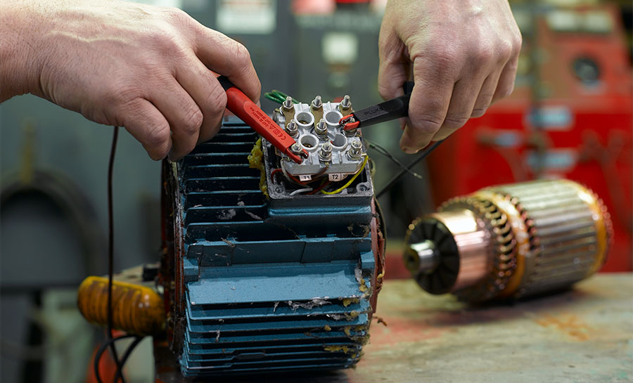 IPS Dedicated small electric motor repair services