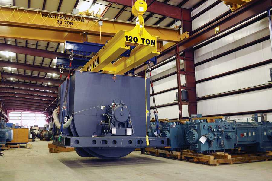 IPS Large motor storage and maintenance