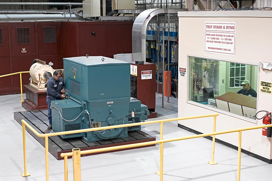Test Stand 37,500 HP @ 13.8 kV
