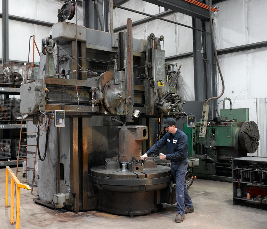 IPS Mechanical Repair Vertical Mill