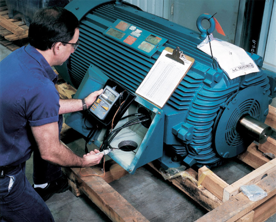 Electric Motor Storage And Maintenance Ips Storage Services