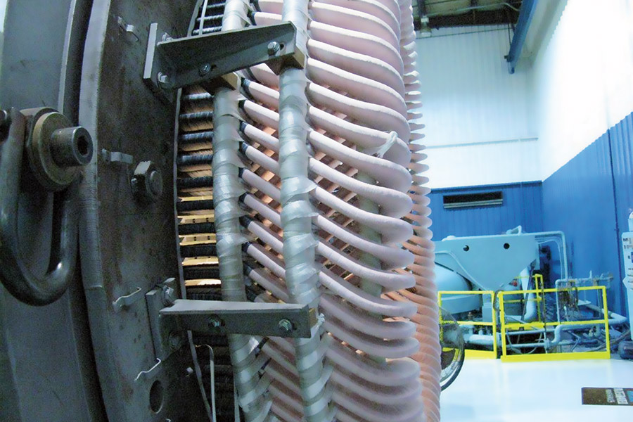 IPS Nuclear motor rewound with MegaSeal