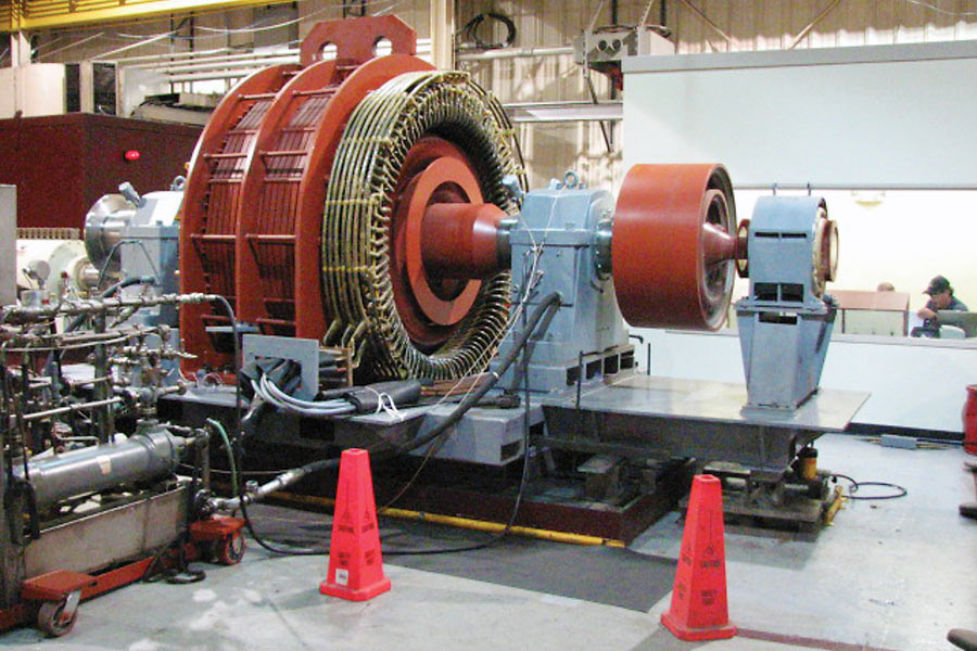 Comprehensive Electric Motor and Generator Testing